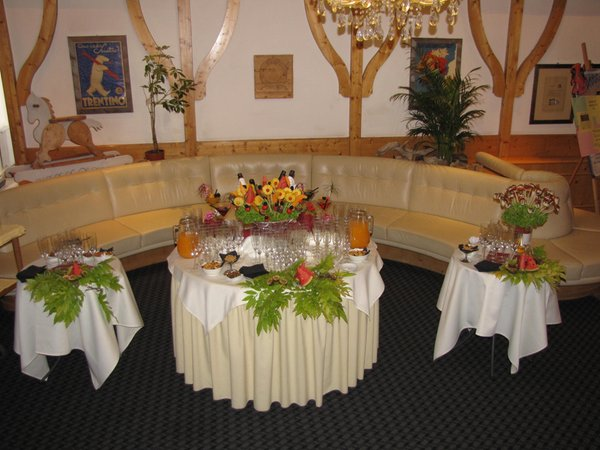The restaurant Folgaria Club Hotel Alpino
