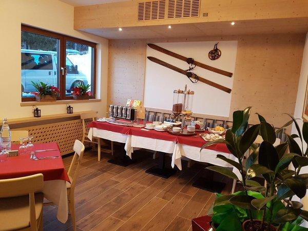 Il ristorante Serrada (Folgaria) Martinella