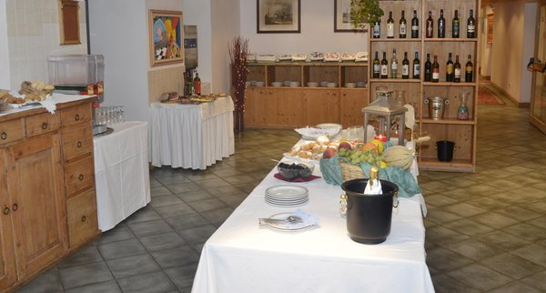 Das Frühstück Hotel Martinella