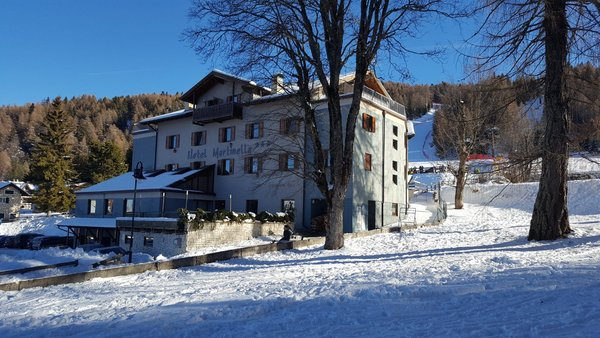 Foto invernale di presentazione Hotel Martinella