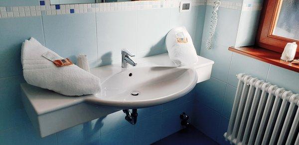Foto del bagno Hotel Martinella