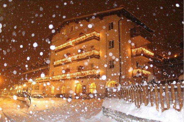 Foto invernale di presentazione Hotel Rosalpina