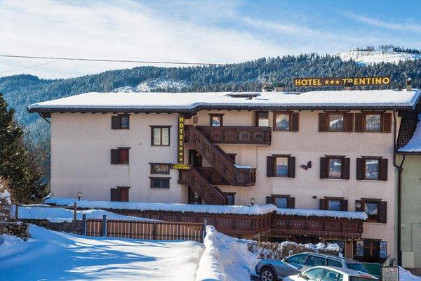 Foto invernale di presentazione Hotel Trentino