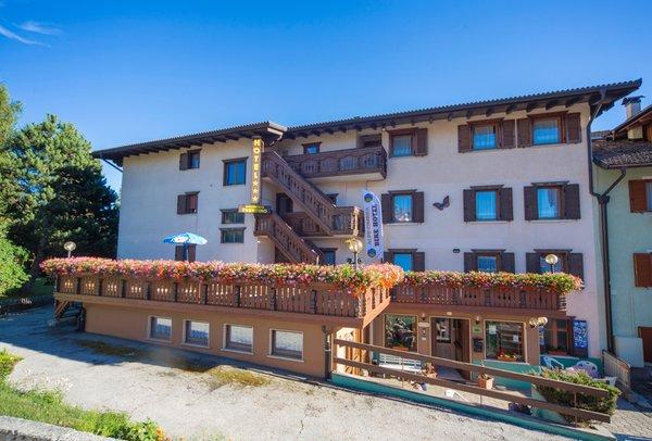 Foto estiva di presentazione Hotel Trentino