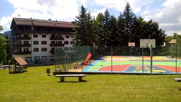 La posizione Park Hotel Miramonti Folgaria