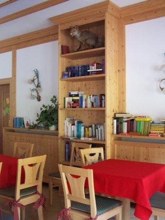 Die Gemeinschaftsräume Residence Tana della Volpe