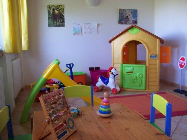 La sala giochi Residence Tana della Volpe