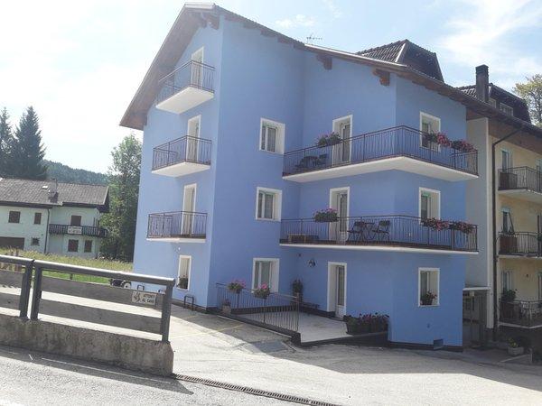 Foto estiva di presentazione Appartamenti Cuel Milena