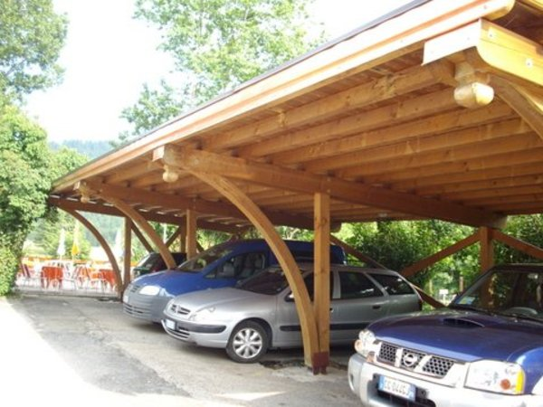 Il parcheggio Residence La Madonnina