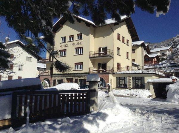 Foto invernale di presentazione Milano - Hotel 2 stelle