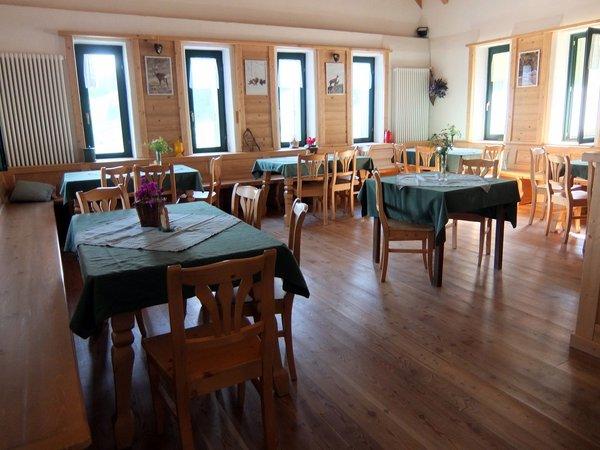The restaurant Folgaria Malga Vallorsara
