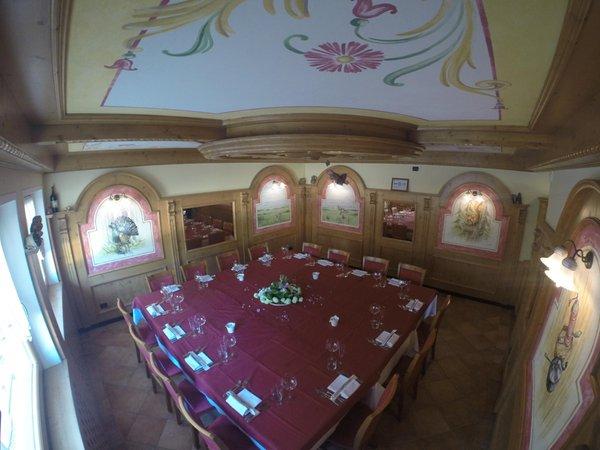The restaurant Serrada (Folgaria) Cogola