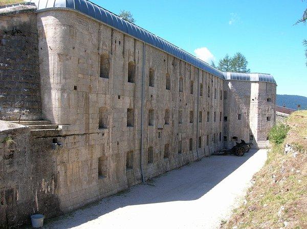 Foto estiva di presentazione Museo Forte Belvedere-Gschwent