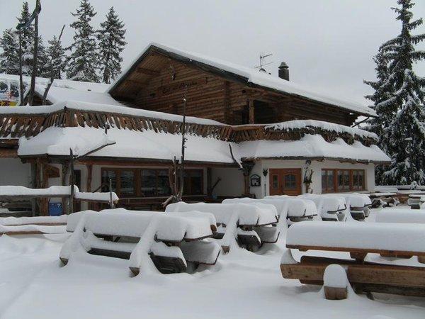 Foto esterno in inverno Ütia Col dl' Ancona