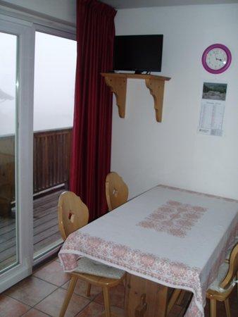 La zona giorno Residence Giongo