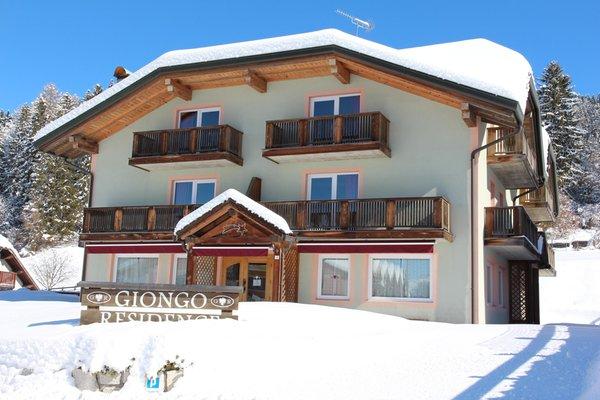 Foto invernale di presentazione Residence Giongo