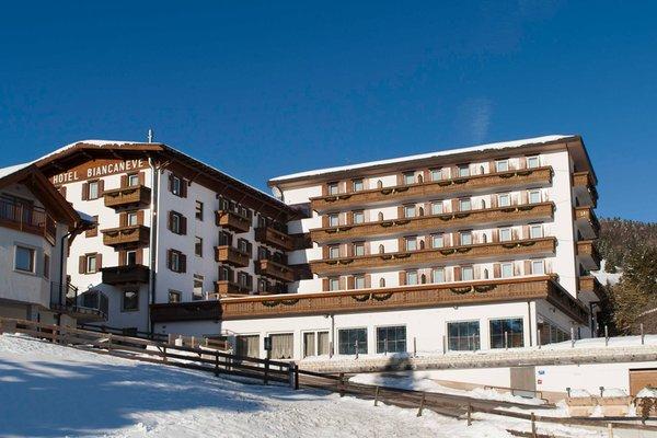 Foto invernale di presentazione Grand Hotel Biancaneve