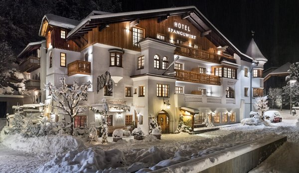 Foto invernale di presentazione Spanglwirt - Hotel