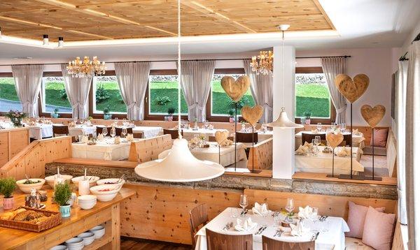 Il ristorante Campo Tures Spanglwirt