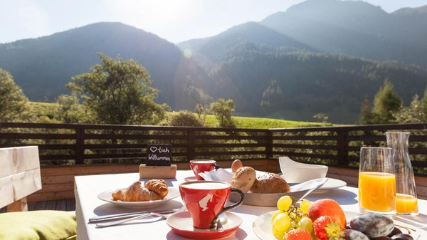 The breakfast La Casies - Mountain Living Hotel - Hotel 4 stars