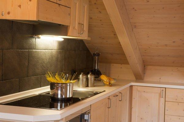 Foto della cucina Chalet La Rugiada