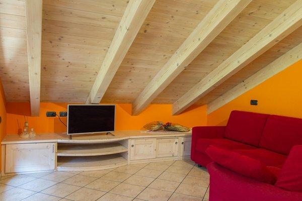 La zona giorno Chalet La Rugiada - B&B + Appartamenti