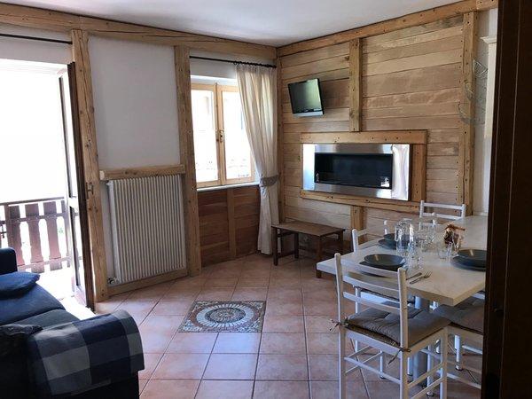 The living area Casa Ferrazza - Apartments 3 gentians