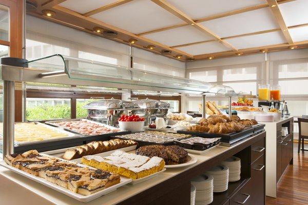 The breakfast Grand Hotel Trento