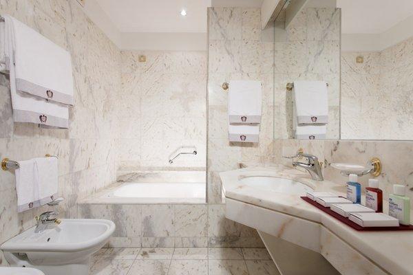 Photo of the bathroom Grand Hotel Trento