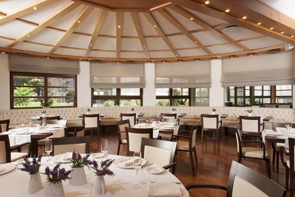 The restaurant Trento Grand Hotel Trento