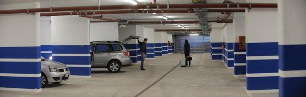 Il parcheggio Garni-Hotel Al Marinaio