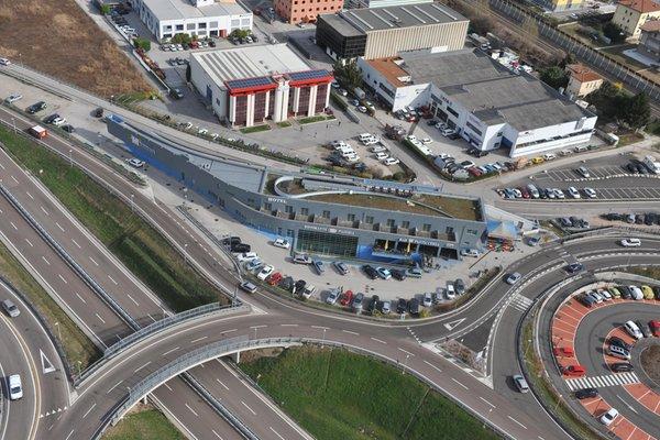La posizione Garni-Hotel Al Marinaio Trento