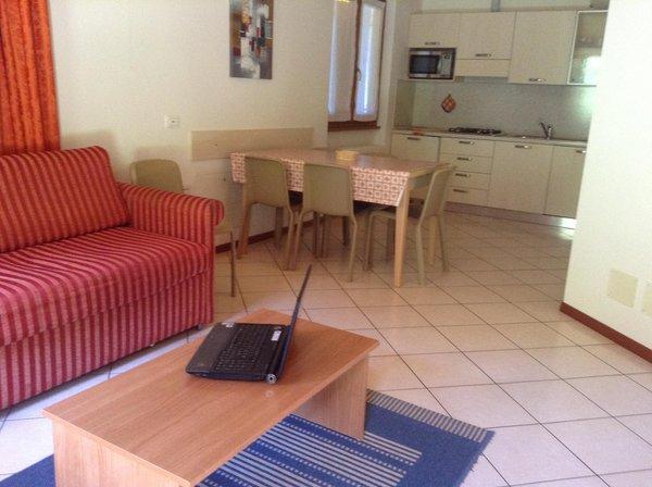 The living area La Decima - Rooms + Apartments in farmhouse 3 flowers