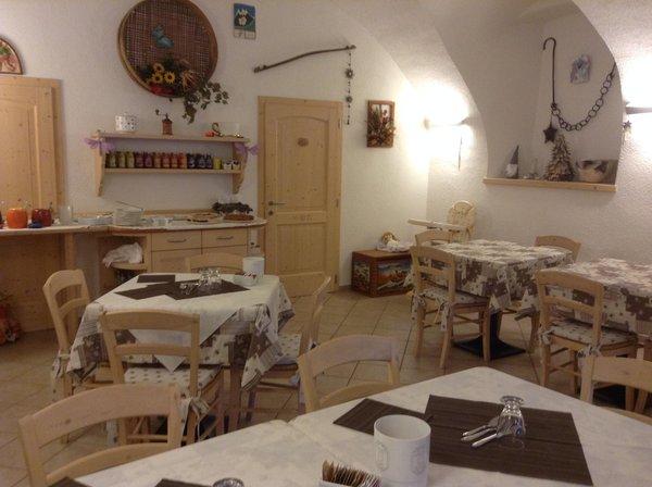 Il ristorante Trento La Decima