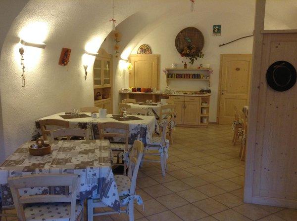 The restaurant Trento La Decima
