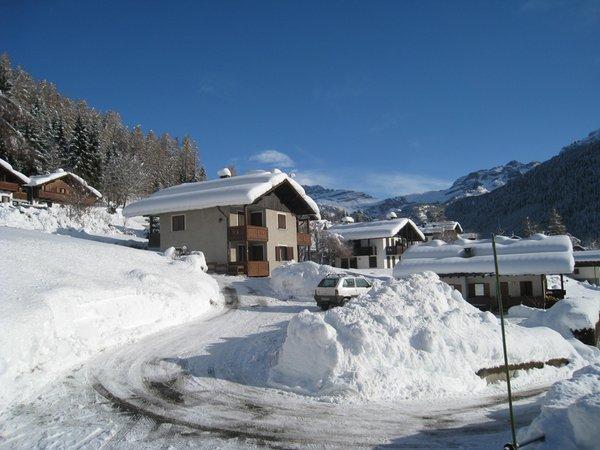 Foto invernale di presentazione Casa Maffei - Appartamento 3 genziane