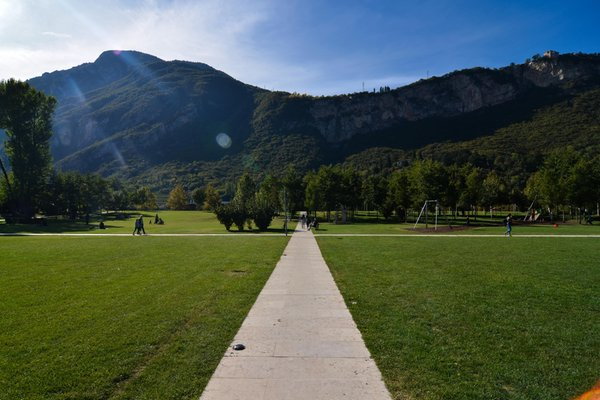 Panoramic view Trento