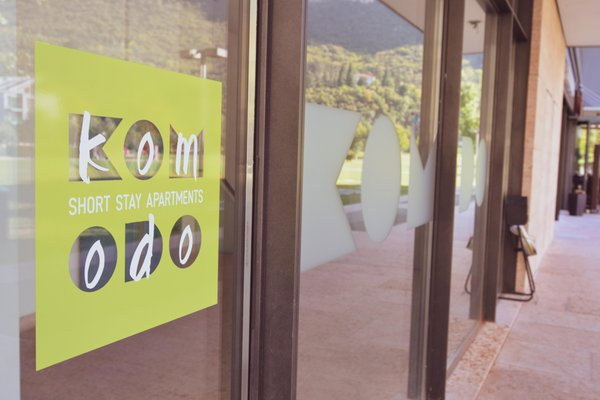 Photo exteriors in summer Komodo Apartments
