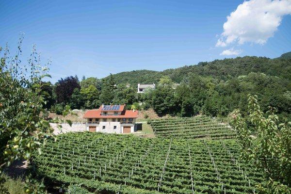 Position Farmhouse B&B Casteller Trento
