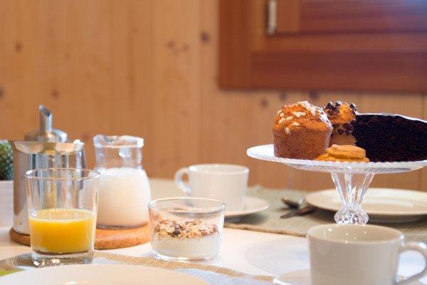The breakfast Farmhouse B&B Casteller