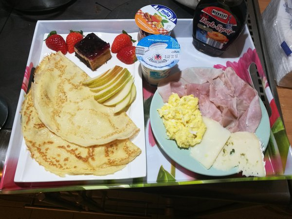 The breakfast Bed & Breakfast Alla Val
