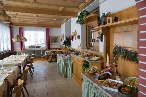 Il ristorante Predazzo Zaluna