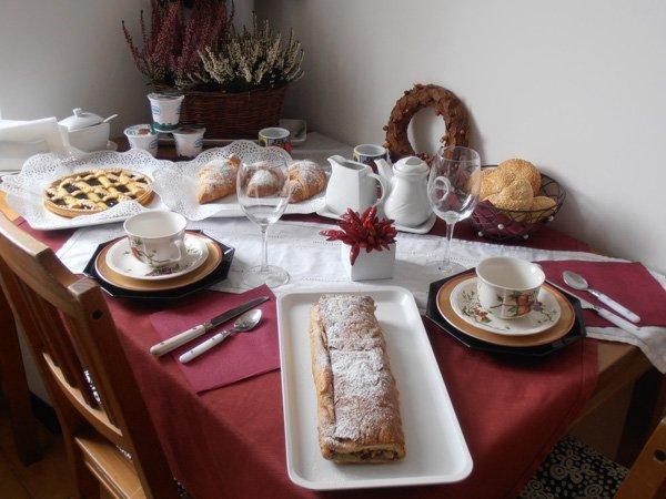The breakfast Bed & Breakfast Casa Pompermaier