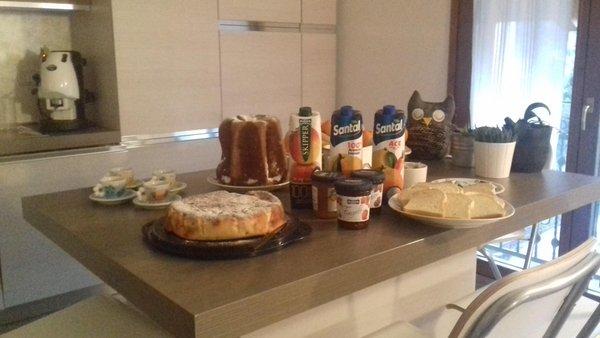 The breakfast Bed & Breakfast Casa Tondin