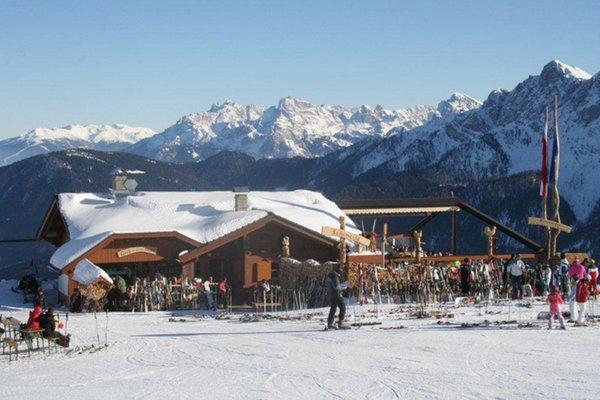 Foto esterno in inverno Geiselsberg
