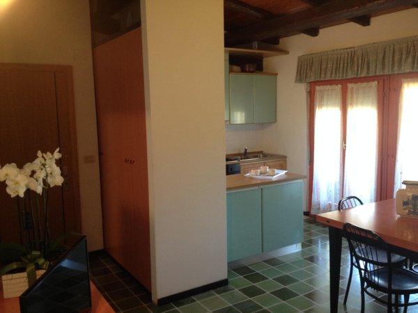 La zona giorno Appartamenti Baretta Antonio