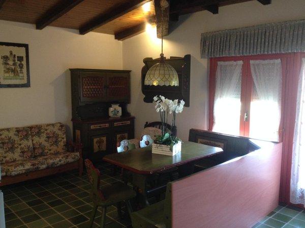 La zona giorno Baretta Antonio - Appartamenti 3 genziane