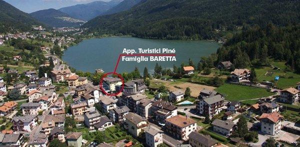 La posizione Appartamenti Baretta Antonio Baselga di Piné