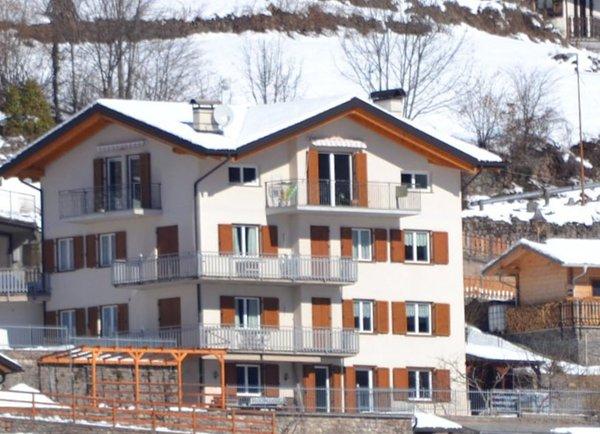 Foto invernale di presentazione Appartamenti Dallafior Gianfranco