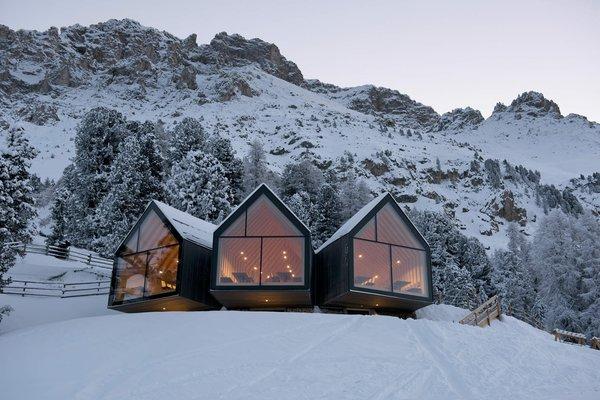 Winter presentation photo Mountain hut Oberholz